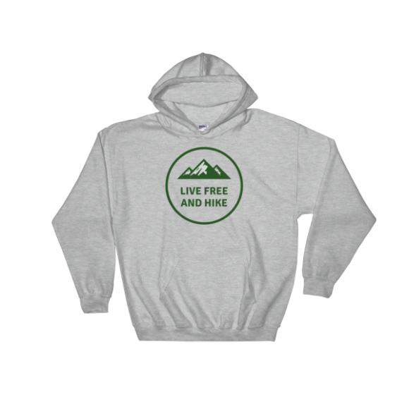 Live Free and Hike Hooded Sweatshirt