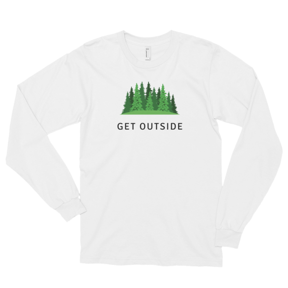 Get Outside Unizex Long sleeve t-shirt