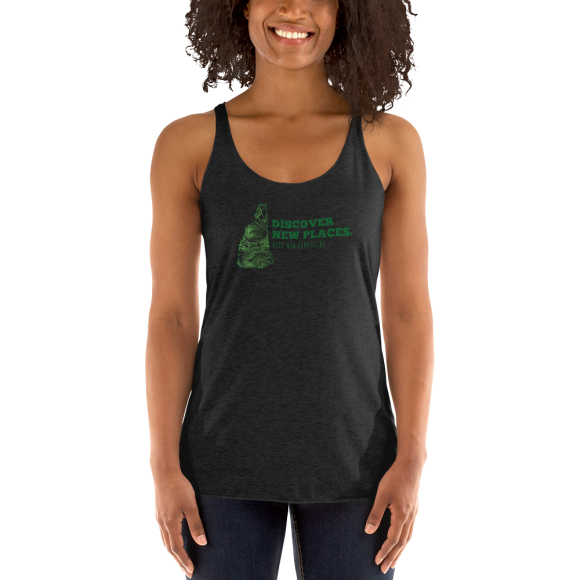 Discover NH – Women's Racerback Tank