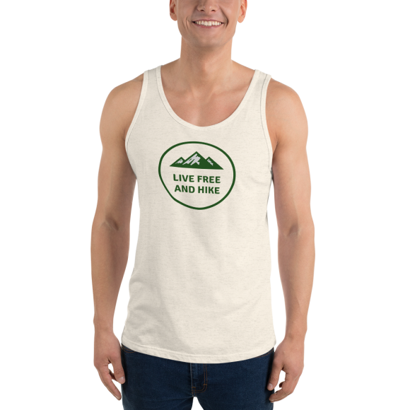 Live Free And Hike – Unisex Tank Top