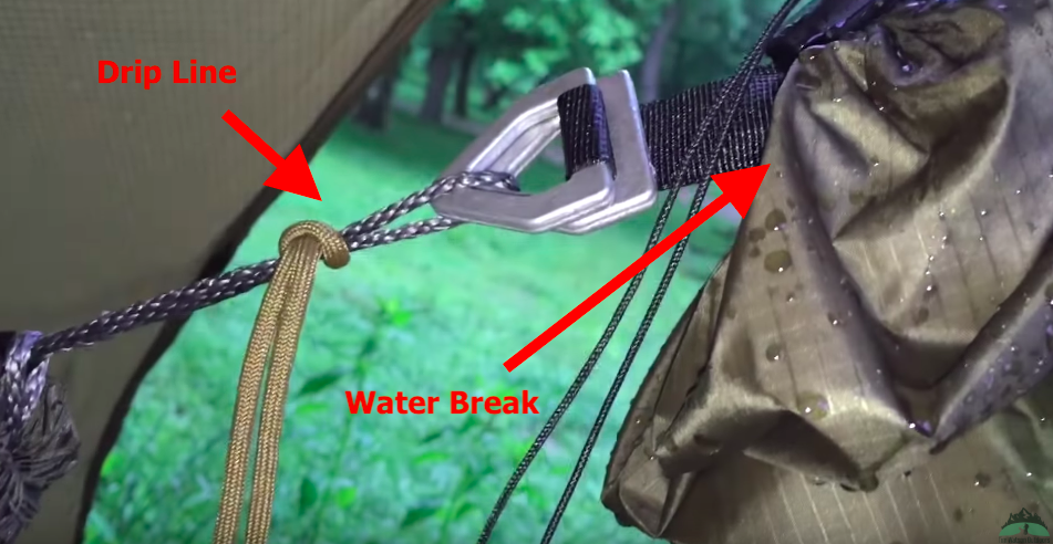 Hammock Drip Lines & Water Breaks