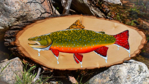 Brook Trout Painting By Piper Nunn