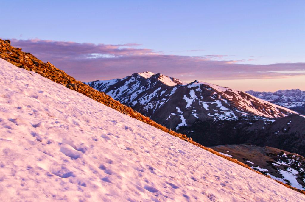 Mount Massive As Seen On Mount Elbert