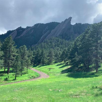 Royal Arch Trail - Boulder Colorado