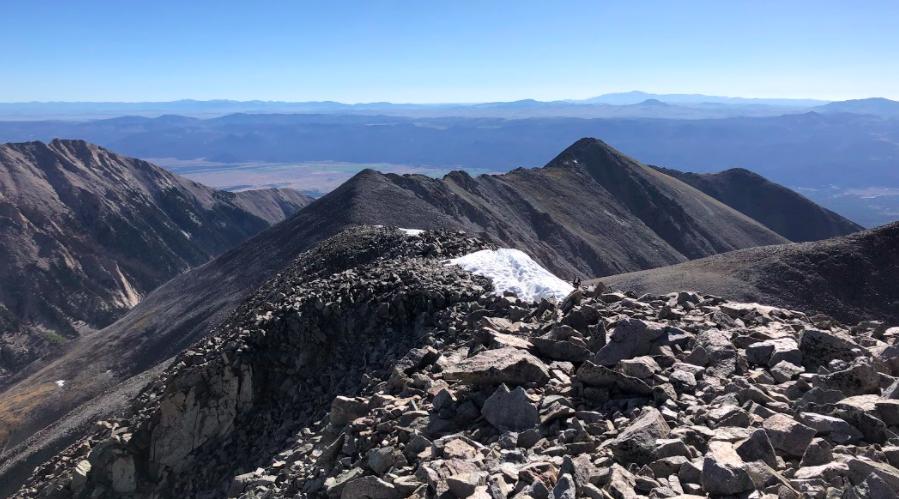 The Ridge Along Tabeguache Peak