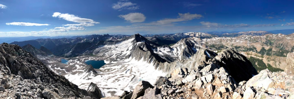 Panoramic Views from Capitol Peak