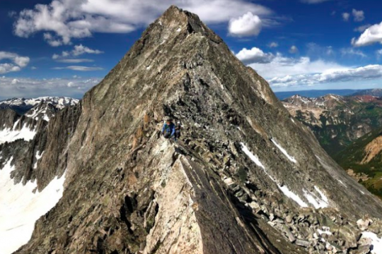 The Knife Edge - Capitol Peak